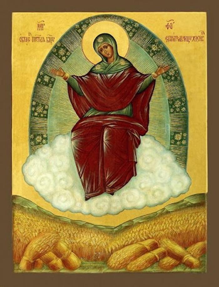 «Спорительница хлебов» икона