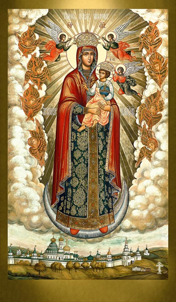 радость всех ангелов икона