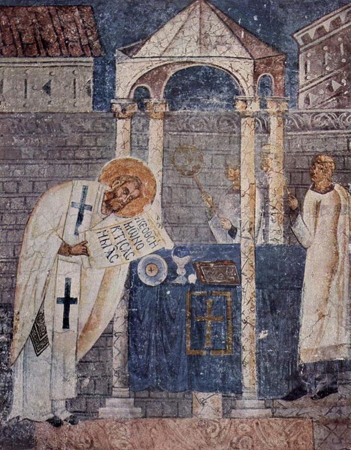 когда совершается литургия василия великого