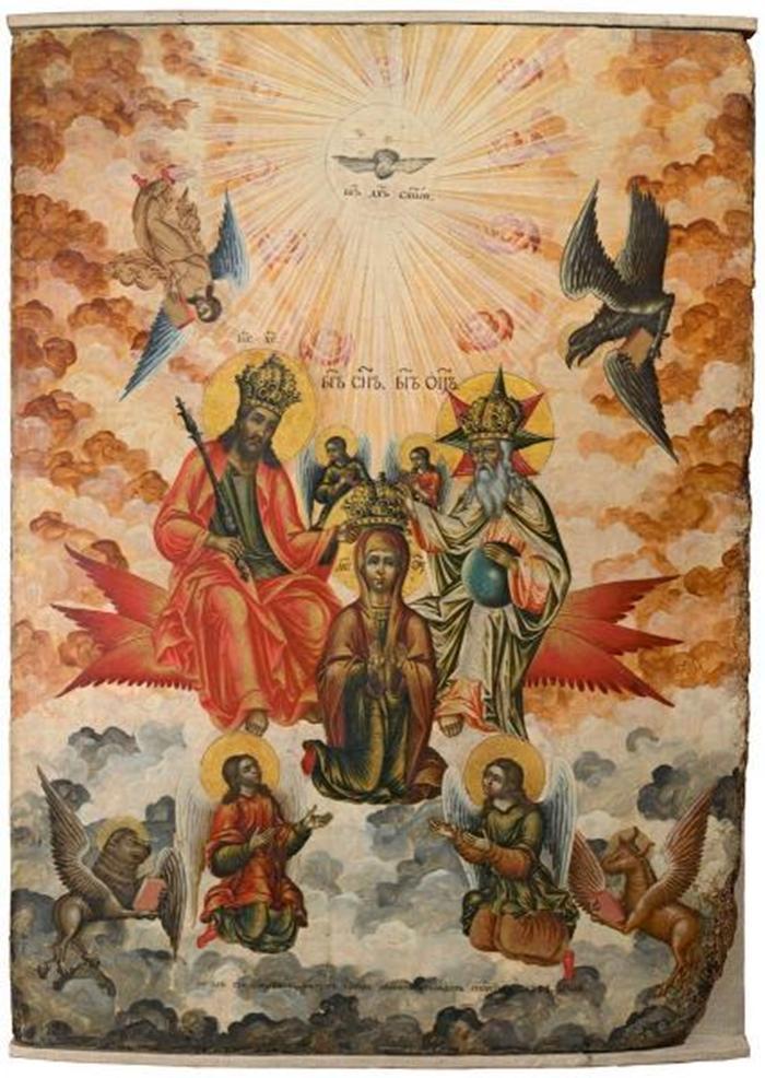 коронование богоматери